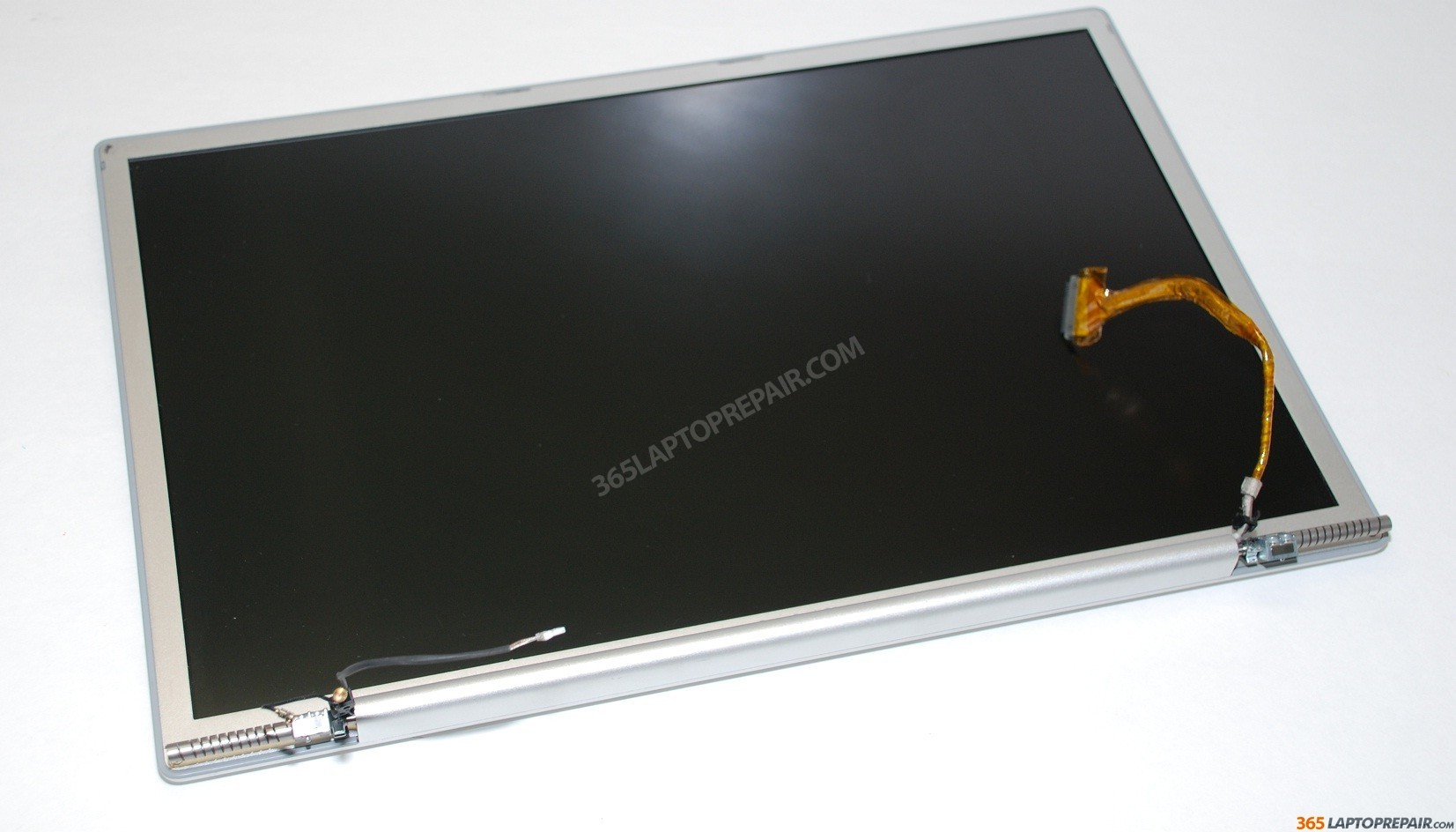 "Apple Powerbook G4 Aluminum 17"" LCD Screen w Back Cover"