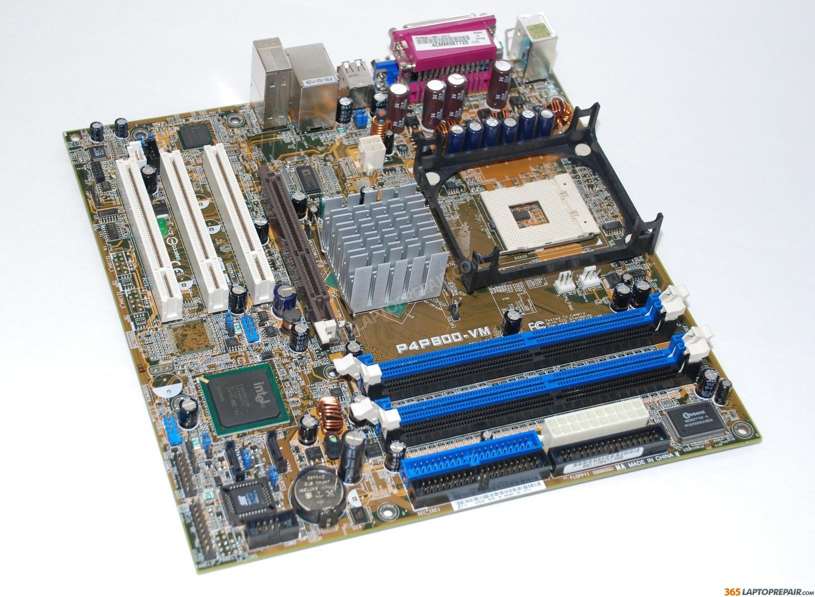 Asus p4pe чипсет intel 845pe процессор pentium 4 fsb 400/533мгцceleron размер, - atx форм-фактор, 22,9мм x 305мм