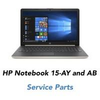 HP Notebook 15- Ay and BA