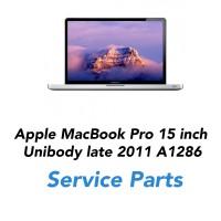 Apple MacBook Pro 15 inch Unibody  Late 2011 A1286  Service Parts